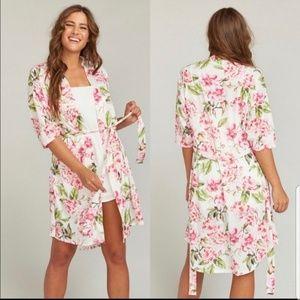 Show Me Your MuMu Brie Garden of Blooms Robe